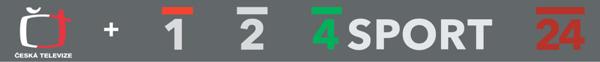 V roce 2007 uvedla ČT nová loga všech svých kanálů, korporátní logo ale zůstalo nezměněné