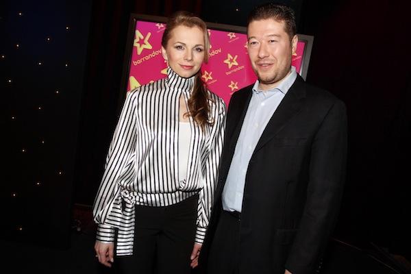 Martina Kociánová a Tomio Okamura. Foto: TV Barrandov
