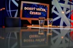 Studio pořadu Dobrý večer, Česko! Foto: TV Barrandov
