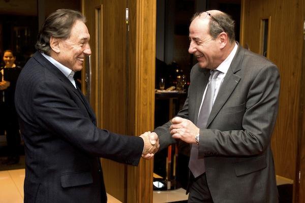 Karel Gott a Michel Fleischmann. Foto: Lagardere