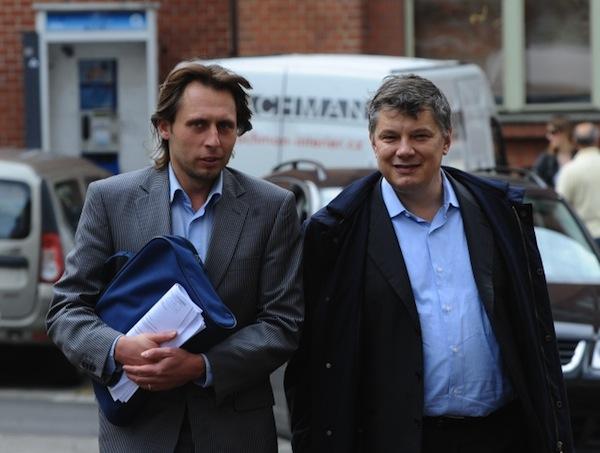Jan Tuna a Aleš Hušák. Foto ČTK/Peška Stanislav