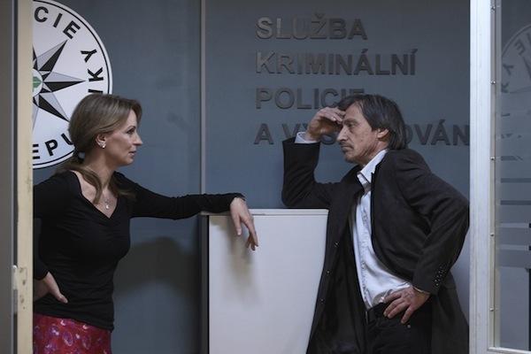 Ivana Chýlková a Martin Stropnický v Kriminálce Anděl. Foto: TV Nova
