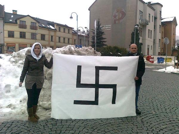 Nela Dubáková a Ivan Brezina v Semilech. Foto: Maxim