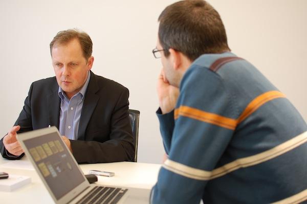 Petr Dvořák v rozhovoru s Médiářem. Foto: Sandra Kisić
