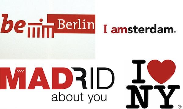Slogany evropských měst