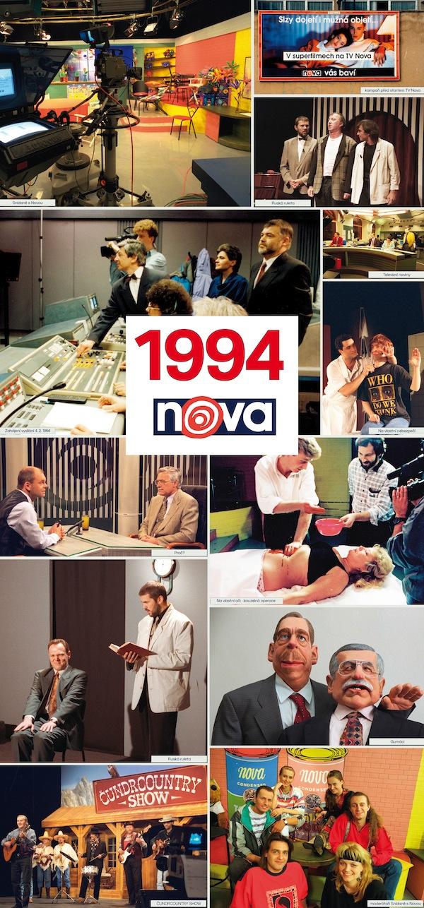 TV Nova v roce 1994