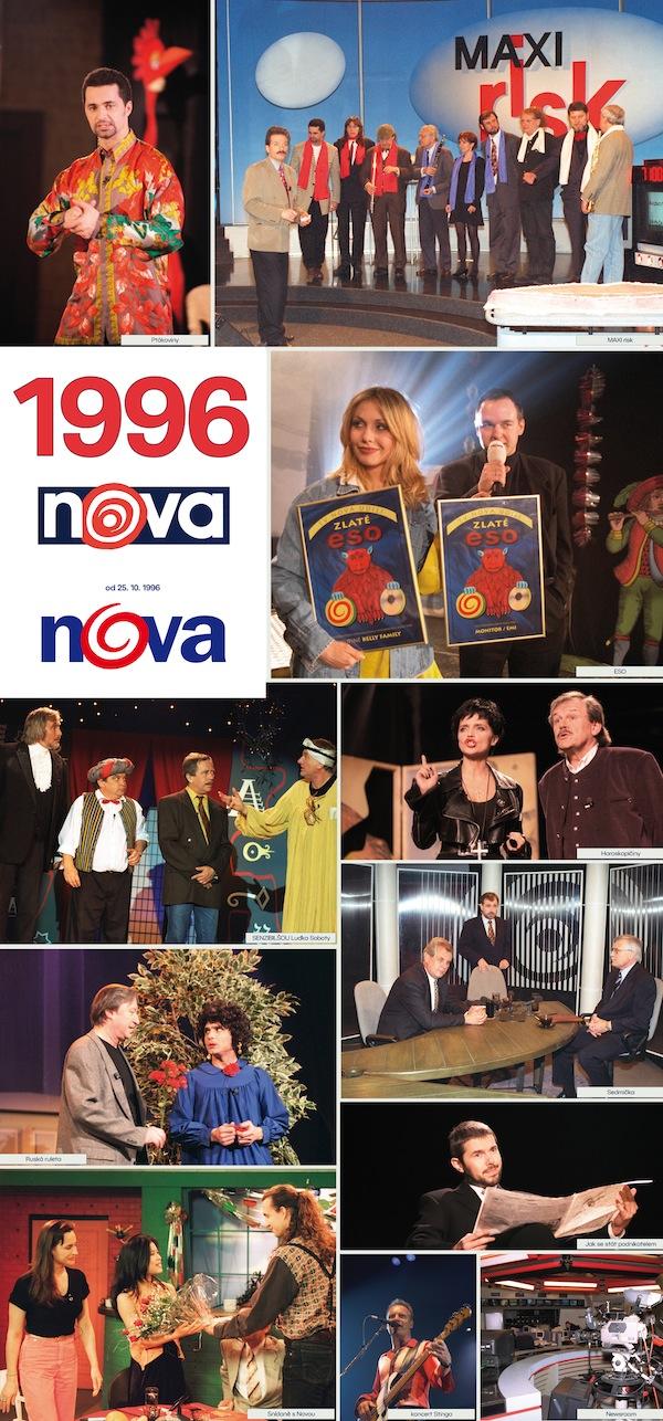 TV Nova v roce 1996