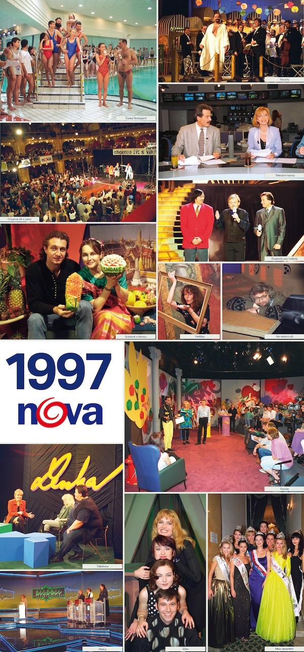 TV Nova v roce 1997