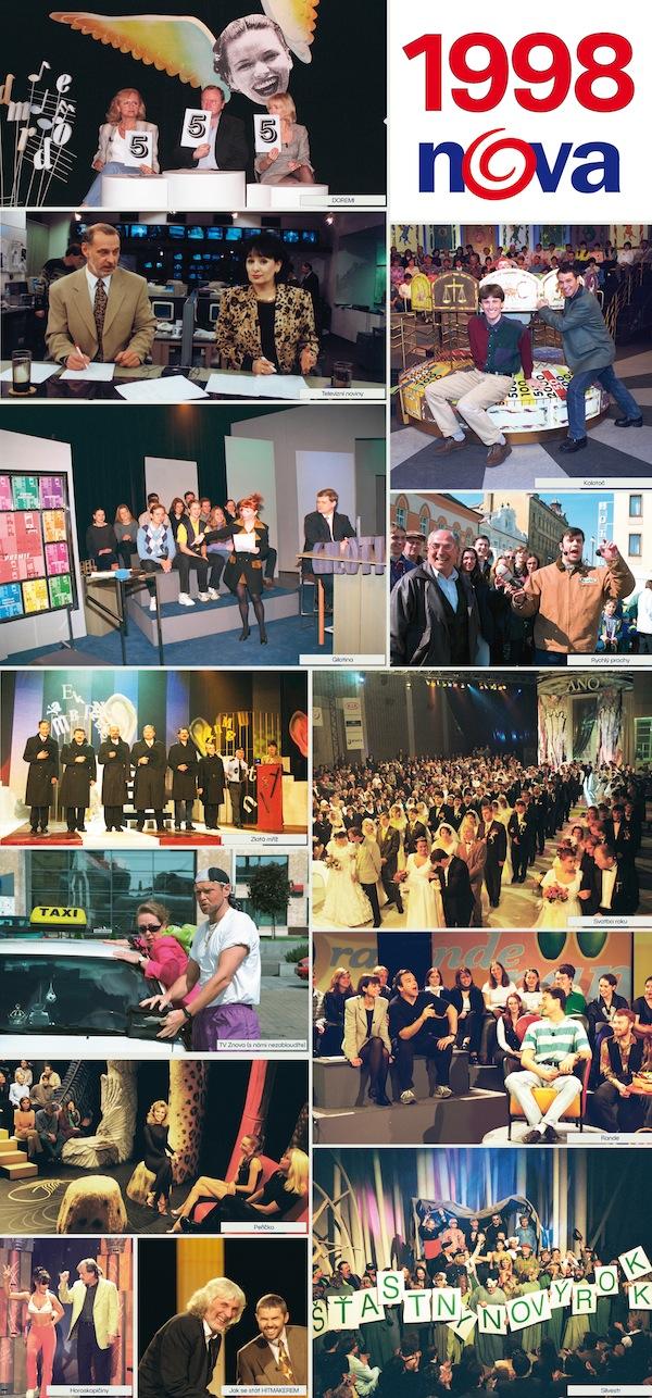 TV Nova v roce 1998