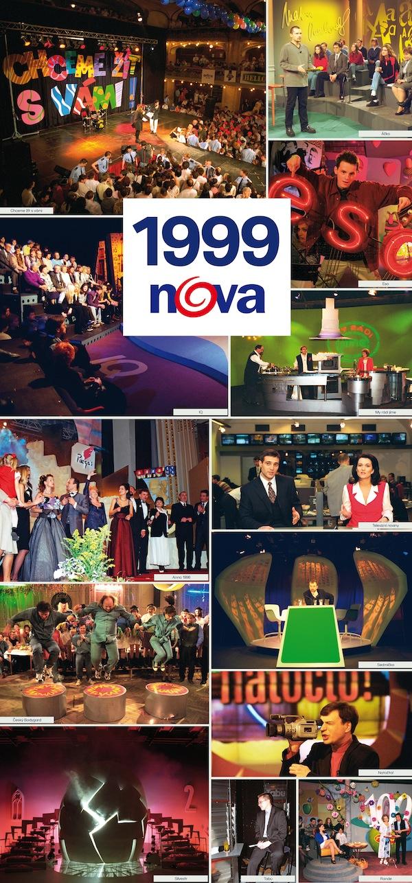 TV Nova v roce 1999