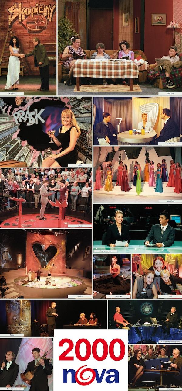 TV Nova v roce 2000