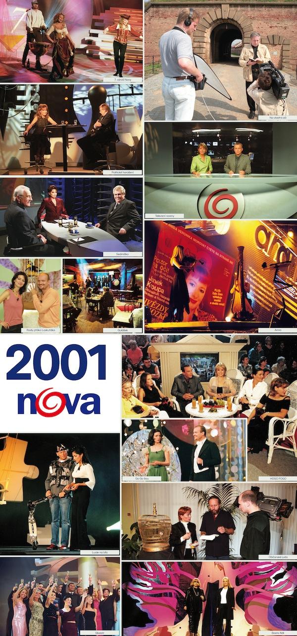 TV Nova v roce 2001