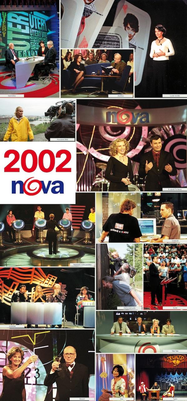 TV Nova v roce 2002