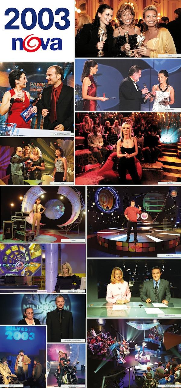 TV Nova v roce 2003