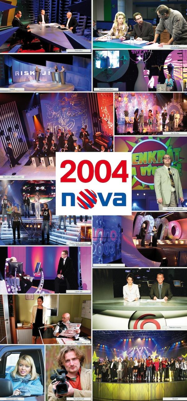 TV Nova v roce 2004