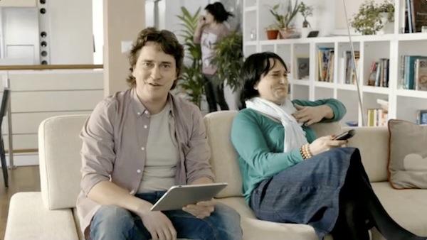 Saša Rašilov v reklamě na UPC. Foto: UPC
