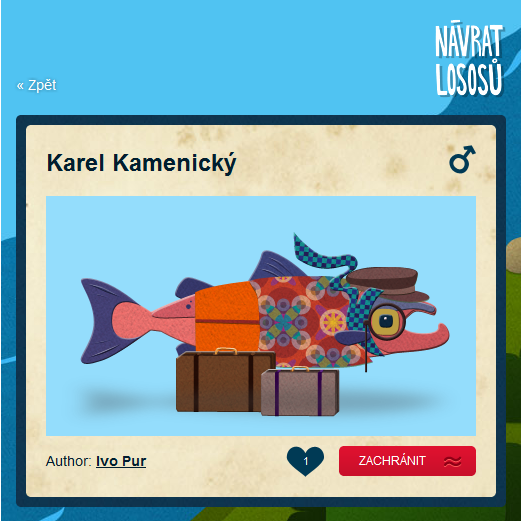 Aplikace Návrat lososů