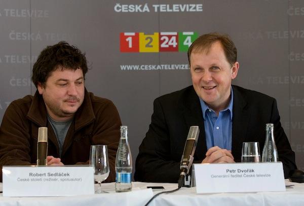 Robert Sedláček, Petr Dvořák. Foto: ČT