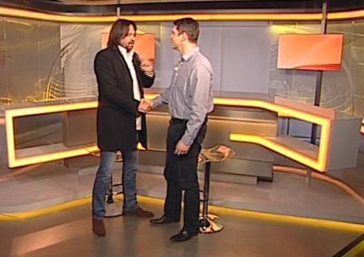 Jiří Pomeje a Marek Singer. Foto: TV Prima
