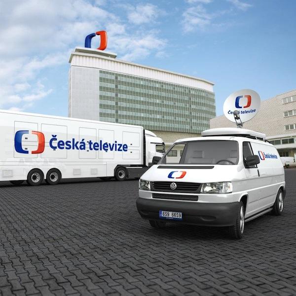 Nové logo České televize od studia Najbrt