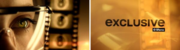 Grafické označení premiér Nova Cinema Exclusive