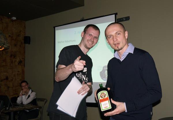 Druhé místo připadlo Ladislavu Cupovi a Štěpánu Vyternovi z Mather Advertures