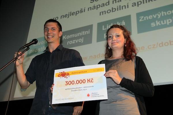 Dobrou aplikací jsme s Nadací Vodafone zvolili projekt koordinace dobrovolníků Člověka v tísni. Foto: Tomáš Pánek
