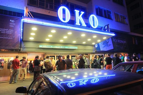 Přehlídku mobilních aplikací AppParade hostí Bio Oko na Praze 7. Foto: Tomáš Pánek