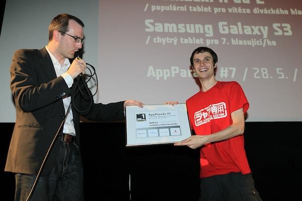 Vladimír Hrinčár z Hyperbolic Magnetism radost z vítězství nikterak neskrýval. Foto: Tomáš Pánek