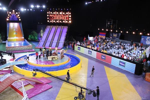 Aréna národů se představovala jako novodobé Hry bez hranic. Foto: TV Prima