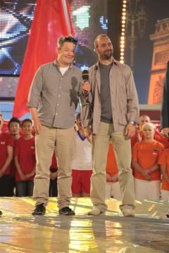 Moderátoři Aleš Háma a Aleš Valenta. Foto: TV Prima