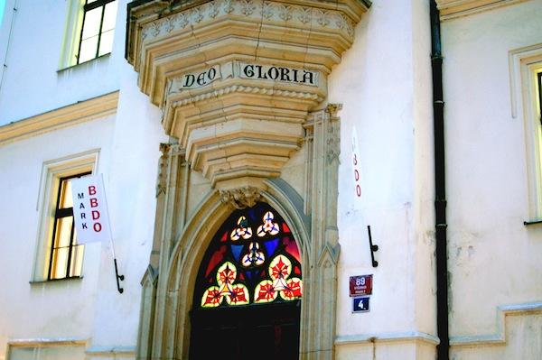 Sídlo Mark BBDO na pražském Vyšehradě. Foto: Sandra Kisić