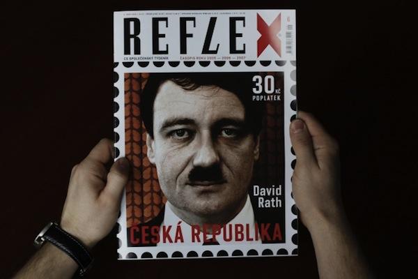 David Rath na obálce Reflexu. Foto: ČTK/Štěrba Martin