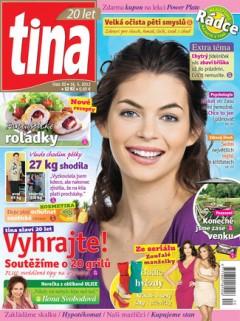 Nová obálka týdeníku Tina