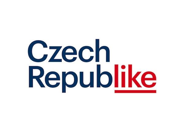 Czech Republike. Turistické logo České republiky od studia Marvil