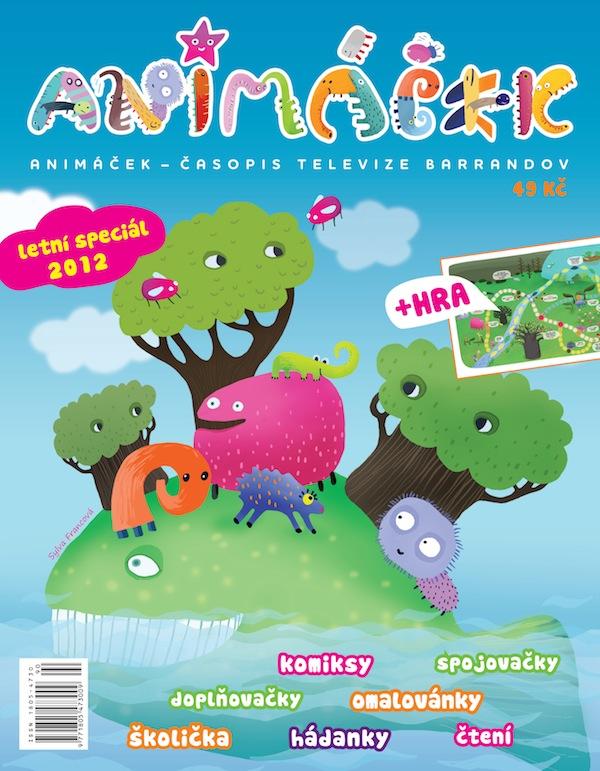 Pořad Animáček je spojený se stejnojmenným časopisem, který vydává majitel Barrandova
