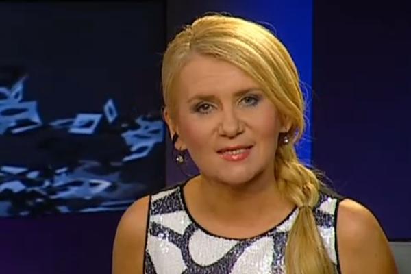 Šárka Bednářová několik let moderovala pořad Před půlnocí. Repro: ct24.cz