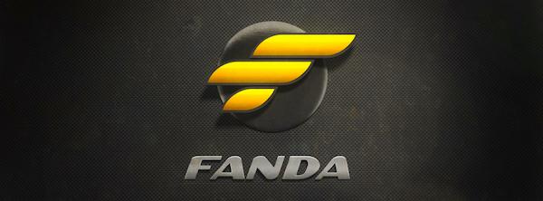 Logo chystaného kanálu pro muže Fanda. Repro: faceboom.com/fandatv