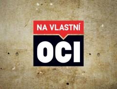 Logo Na vlastní oči. Repro: TV Nova