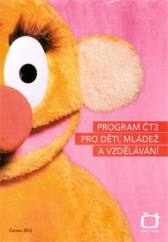 Úvodní stránka projektu dětského kanálu ČT3