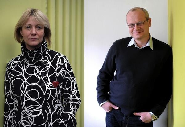 Petra Průšová a Luboš Rezler