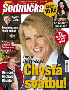 Titulní strana nové Sedmičky. Repro: Týden.cz