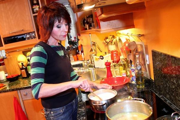 Barbora Tachecí ve VIP Prostřeno!. Foto: TV Prima