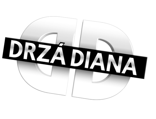 Logo pořadu Drzá Diana
