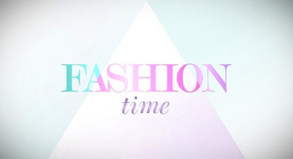 Logo pořadu Fashion Time