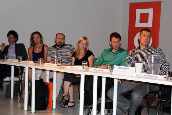 Zástupci malých agentur. Foto: Pavla Lorencová
