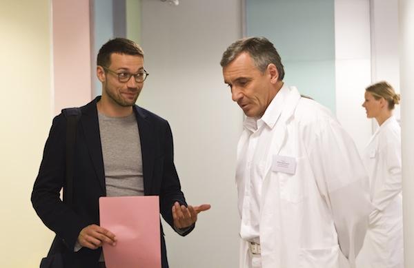 Novou tváří seriálu je Lukáš Hejlík (vpravo). Foto: TV Nova