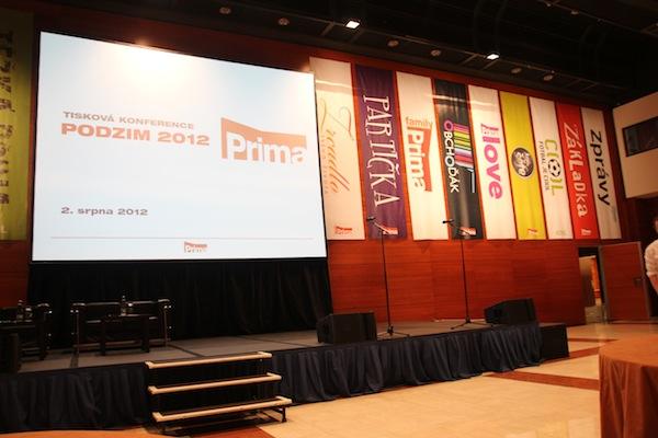 Tisková konference Primy v hotelu Hilton připomínala sjezd. Foto: Linda Matásková