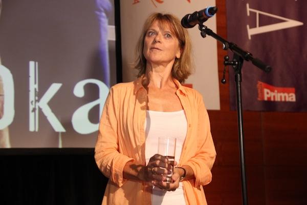 Taťjána Medvecká představí jednu z postav dalšího nového seriálu Základka. Foto: Linda Matásková