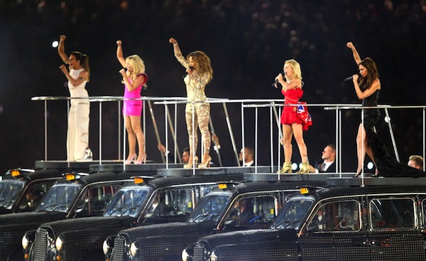 Zakončení her dalo dohromady dívčí skupinu Spice Girls. Foto: Profimedia